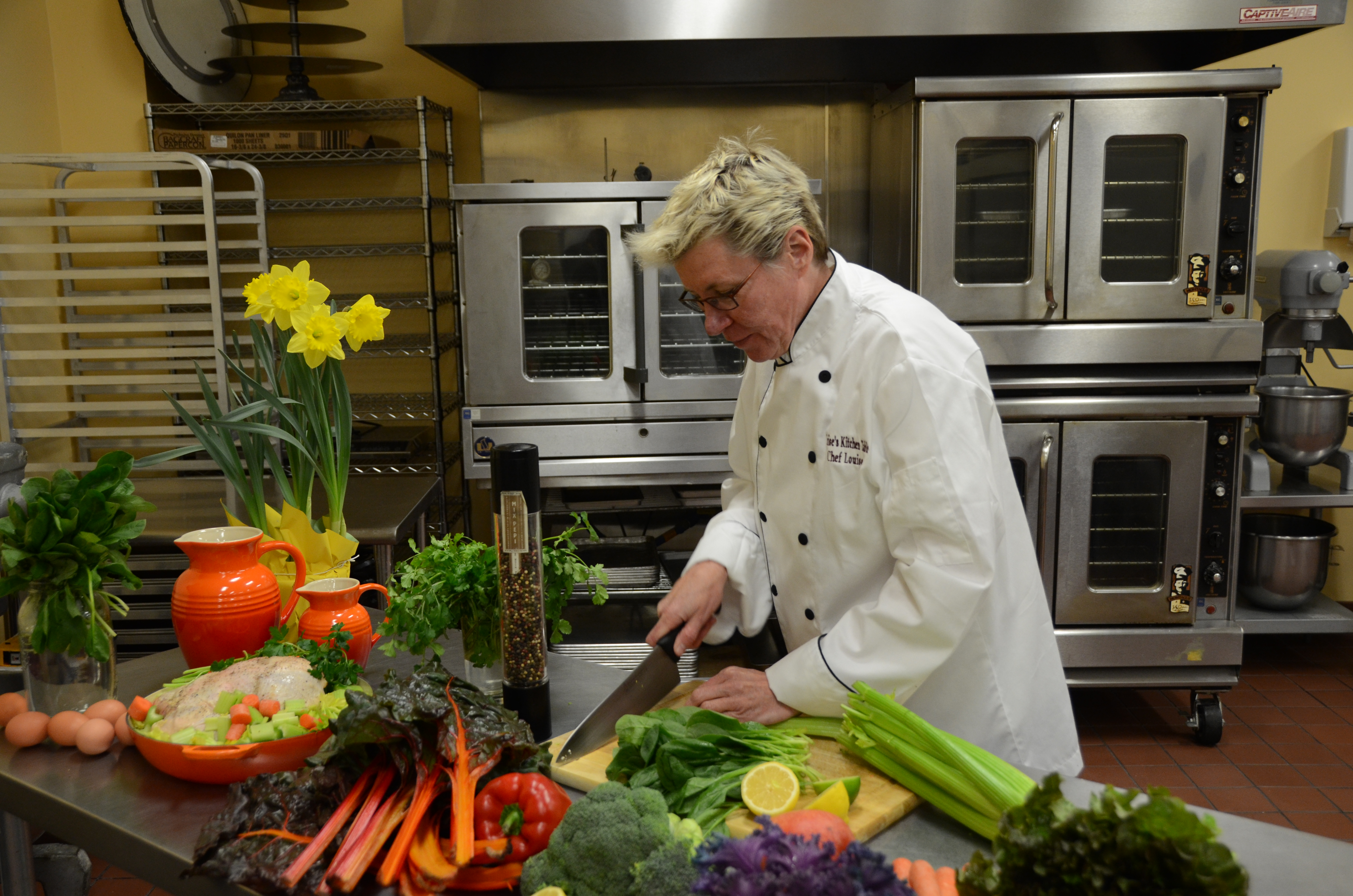 Chef Kitchen Louises Kitchen Table Ceo And Executive Chef Louise Smith